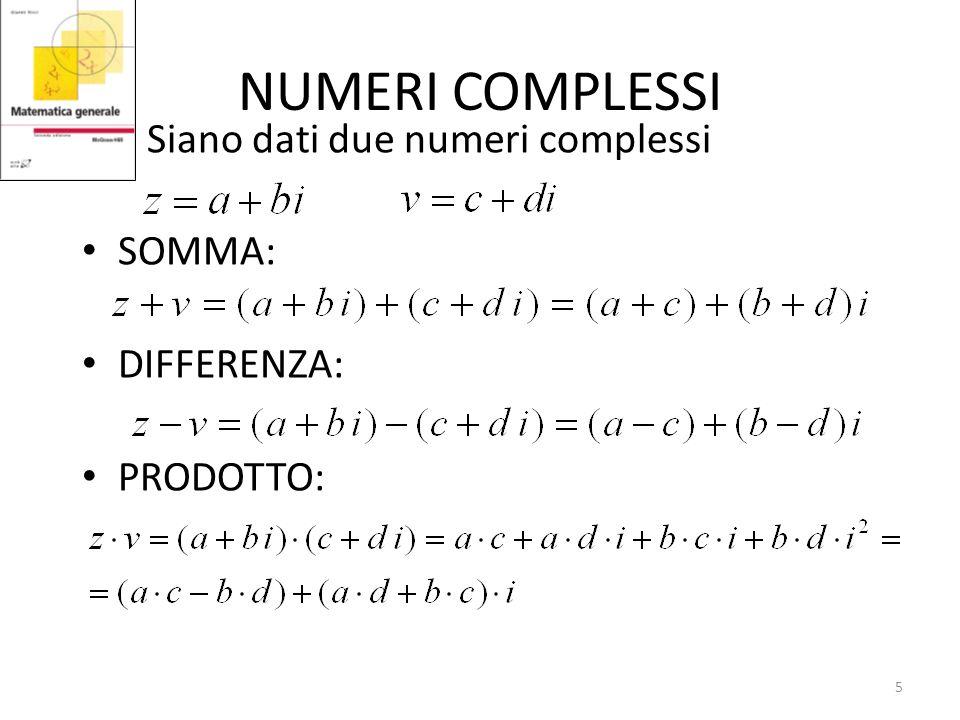 I numeri complessi: cosa sono??