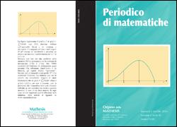 L'editoriale del periodico di matematica