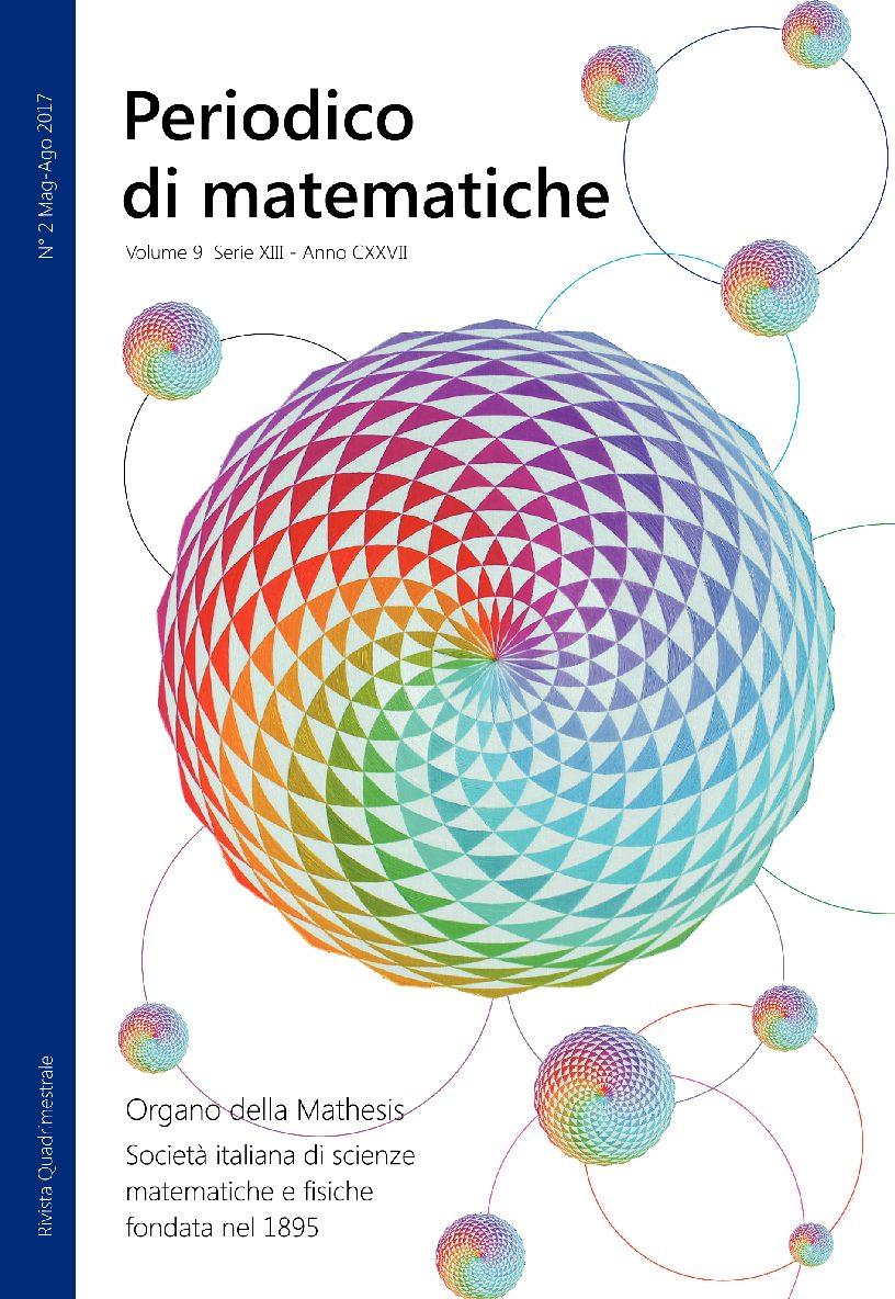 Periodico di matematiche COPERTINA