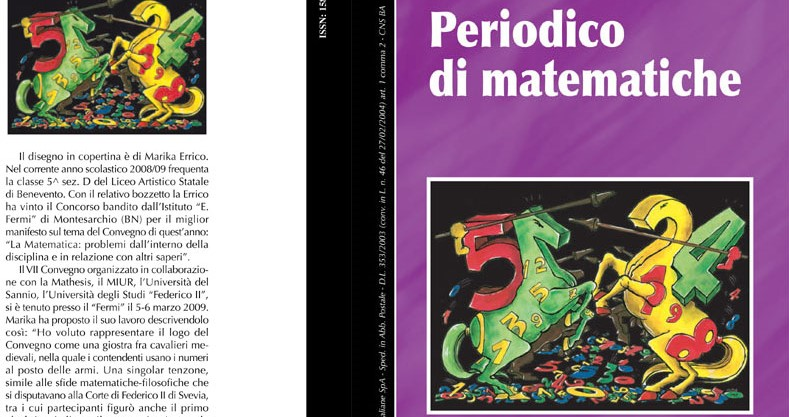 L'insegnamento matematico nelle scuole dell'Italia unita.