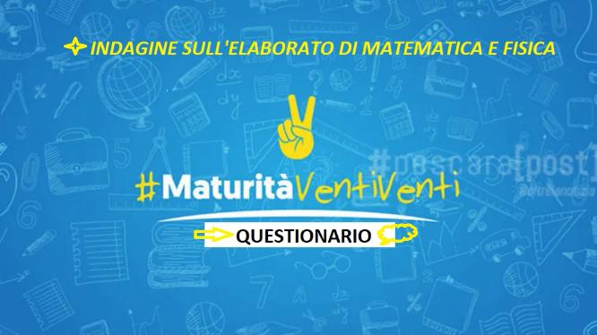 Matematica e Fisica: il questionario del Liceo Gullace